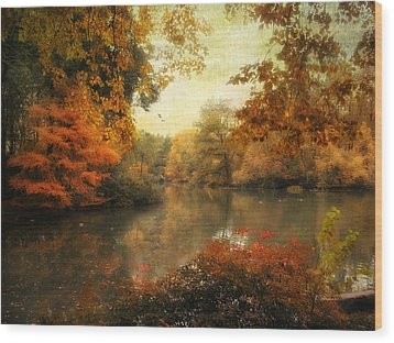 Autumn Afternoon  Wood Print by Jessica Jenney