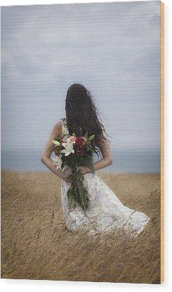 Bouquet Of Flowers Wood Print by Joana Kruse