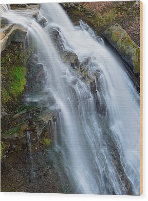 Brandywine Falls Wood Print by Frozen in Time Fine Art Photography