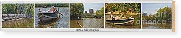 Central Park Afternoon Wood Print by Madeline Ellis