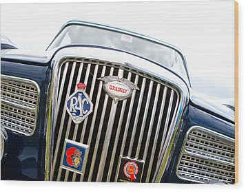 Classic Car Wood Print by Fizzy Image