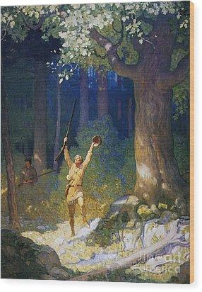 Cooper: Deerslayer, 1925 Wood Print by Granger