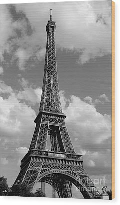 Eiffel Tower Wood Print by Ivete Basso Photography