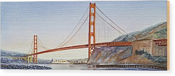 Golden Gate Bridge San Francisco Wood Print