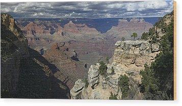Grand Canyon Wood Print by Gary Lobdell