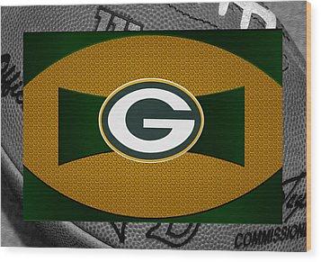 Green Bay Packers Wood Print by Joe Hamilton