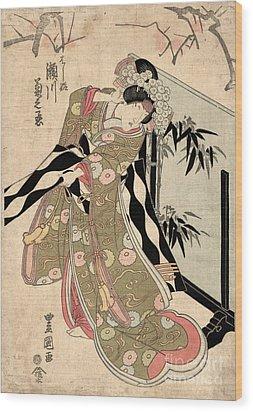 Japan: Tale Of Genji Wood Print by Granger