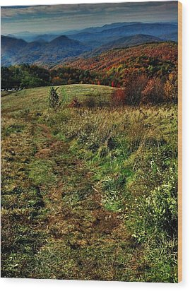 Max Patch Wood Print by Janice Spivey