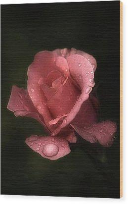 Rose Oil Wood Print