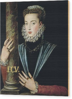 Sanchez Coello, Alonso 1531-1588 Wood Print by Everett