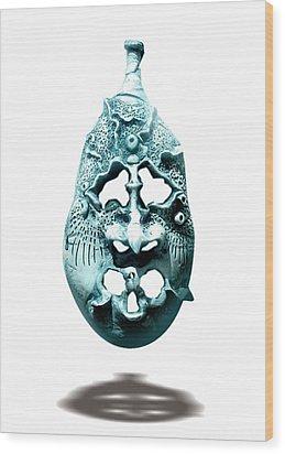 Scream  Wood Print by Evin Pesic