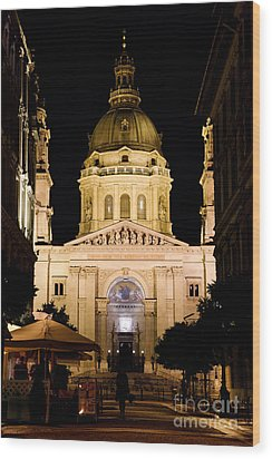 St. Stephen's Basilica In Budapest Wood Print by Michal Bednarek