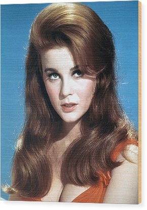 Ann-margret Wood Print by Silver Screen