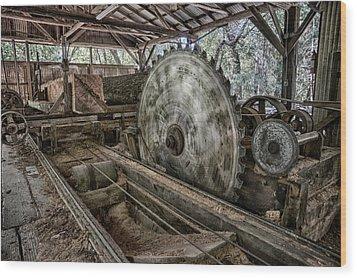 42 Wood Print