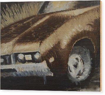 442 Wood Print by Jeff Levitch