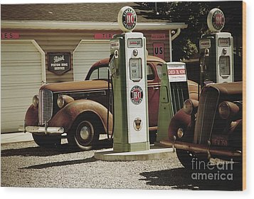 47 Packard Wood Print
