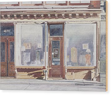 471 West Broadway Soho New York City Wood Print by Anthony Butera