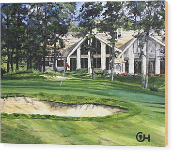 4th Andrew Hudson Memorial Golf Tournament Wood Print by Kevin F Heuman