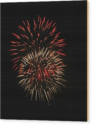 4th Of July 6 Wood Print by Marilyn Hunt
