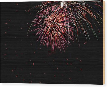 4th Of July 9 Wood Print by Marilyn Hunt