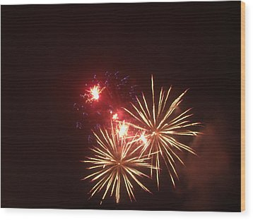 4th Of July Wood Print by Danielle Jackitis