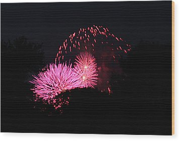 4th Of July Fireworks - 011325 Wood Print by DC Photographer