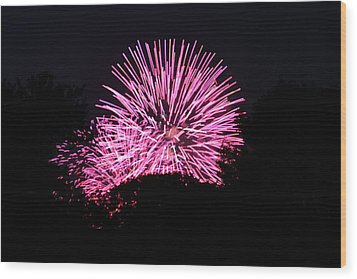 4th Of July Fireworks - 011326 Wood Print by DC Photographer