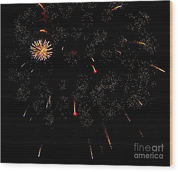 Wood Print featuring the photograph 4th Of July by Jay Nodianos