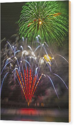 4th Of July Through The Lens Baby Wood Print by Scott Campbell