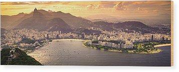 Aterro Do Flamengo Wood Print