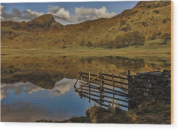 Blea Tarn Wood Print by Trevor Kersley