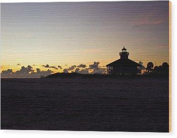 Boca Grande Florida Wood Print by Fizzy Image