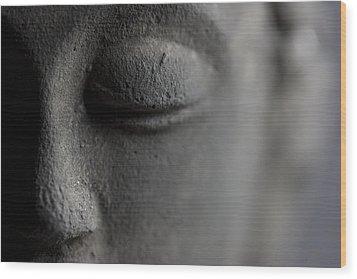 Buddha Wood Print by Falko Follert
