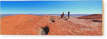 Central Australia Wood Print by Bill  Robinson