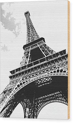 Eiffel Tower Wood Print by Elena Elisseeva