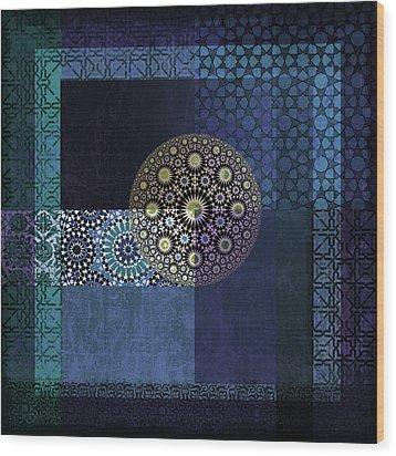 Islamic Motives Wood Print