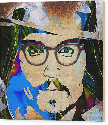 Johnny Depp Collection Wood Print