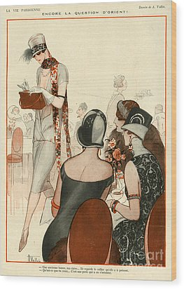 La Vie Parisienne 1924 1920s France A Wood Print by The Advertising Archives