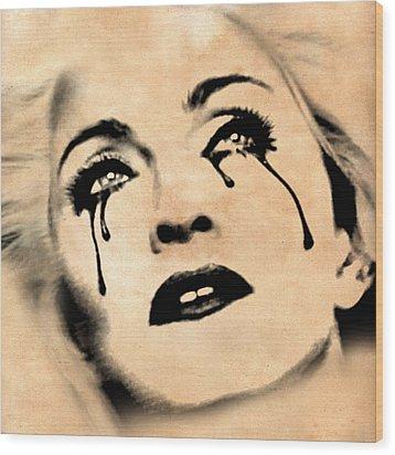 Madonna  Wood Print by Mark Ashkenazi
