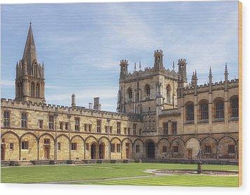 Oxford Wood Print by Joana Kruse