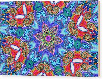 Pattern 4 Wood Print