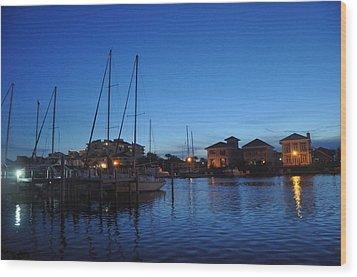 Pensacola Bay Wood Print