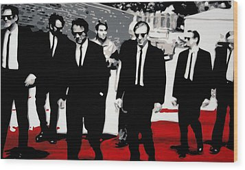 Reservoir Dogs Wood Print