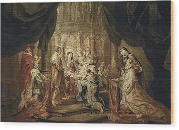 Rubens, Peter Paul 1577-1640. The Wood Print by Everett