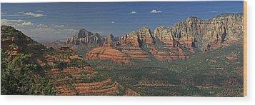 Sedona Wood Print by Gary Lobdell