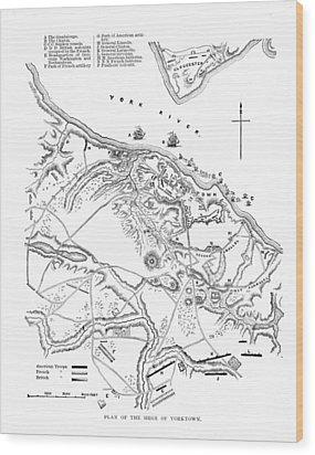 Siege Of Yorktown, 1781 Wood Print by Granger