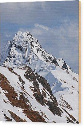Winter In Tatra Mountains Wood Print by Karol Kozlowski
