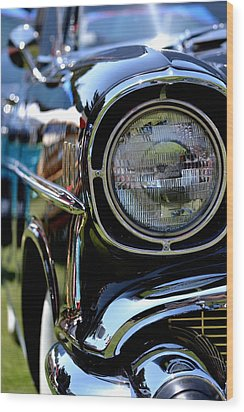 Wood Print featuring the photograph 50's Chevy by Dean Ferreira
