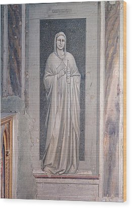 Italy, Veneto, Padua, Scrovegni Chapel Wood Print by Everett