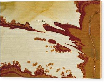 Rock Star Wood Print by Jean Noren
